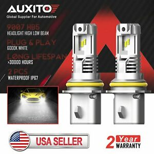 2x Auxito 9007 Hb5 Led Headlight Bulb High Low Beam For Ford F 150 1999 2003