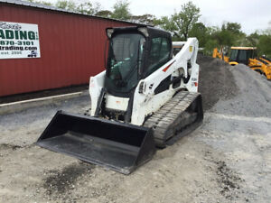 2017 Bobcat T770 Compact Track Skid Steer Loader W Cab Only 1400 Hours