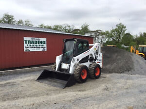2015 Bobcat S650 Skid Steer Loader W Cab A91 2spd High Flow Only 1000 Hours