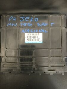 Mitsubishi Pajero Montero Sport At 8631a603 Engine Computer Ecm Pcm Ecu