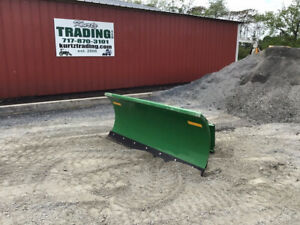 2018 Frontier 72 Front Power Angle Blade Attachment For Compact Tractors
