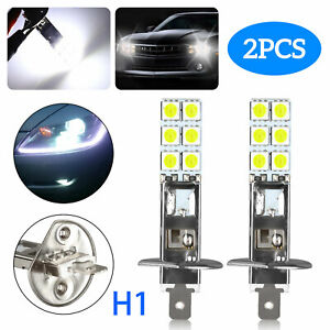 Universal White Led License Plate Light Car Motorcycle Truck Suv Screw Bolt 4x