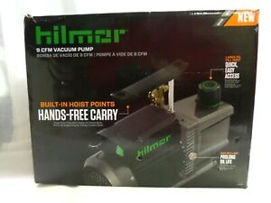 brand New Hilmor 9 Cfm Two Stage Vacuum Pump 120v 1 Hp