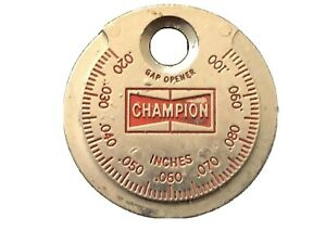 Spark Plug Taper Gap Gauge Tool Vintage Champion Made In Usa Gap Opener Ct 481