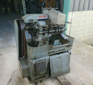 Pair Of Brown Sharpe Size 00g Screw Machines W tooling And Parts