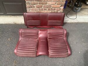1969 Mustang Original Used Mach 1 Rear And Fold Down Seat Sections
