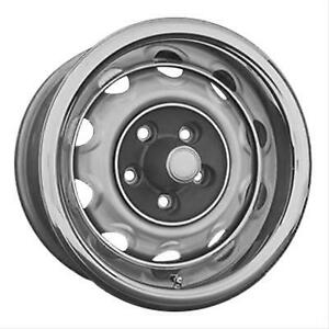 4 New Mopar 15x7s Rally Wheels Challenger Cuda W Caps And Rings 4 5 Bp