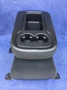 07 08 09 10 11 12 13 Chevy Silverado Sierra Center Jump Seat Arm Rest Console