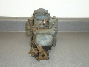 Carter Wcd 2 barrel Carburetor Parts Carb 1949 1950 1951 1952 1953 1954 Pontiac