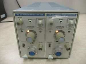 2 Tektronix Am503 Current Probe Amplifiers In Tm502a Chassis_deal_as is_deal