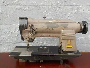 Industrial Sewing Machine Singer 212 140 Two Needle leather