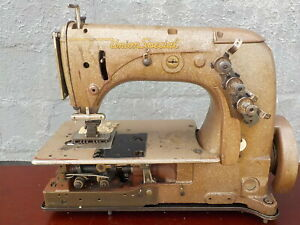 Industrial Sewing Machine Union Special 51 700 two Needle Chain Stitch