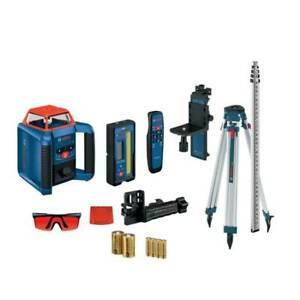 Bosch Grl2000 40hvk Cordless Self Leveling Horizontal vertical Rotary Laser Kit