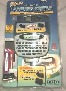 Brother P touch Electronic Labeling System Pt 1750sc Complete Adapter