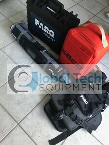 Faro Focus S70 3d Laser Scanner W Accessories Tripod Extended Calibrations