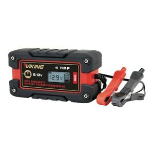 New Battery Charger maintainer 4 Amp Fully Automatic Microprocessor Controlled