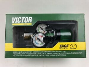 Victor Edge 2 0 Ess32 60 540 0781 3627 Oxygen Single Stage 60psi Regulator gauge