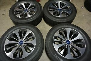 20 Ford F150 Factory Oem Wheels Rims Michelin Tires Expedition Navigator 10006b