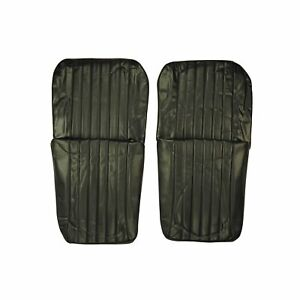 Pui 1968 Chevrolet Chevelle Black Front Bucket Seat Covers 68as10u