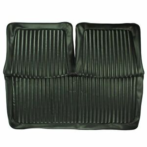 Pui 1973 Plymouth Duster Dart Sport Black Front Bench Seat Cover 73ksd10b