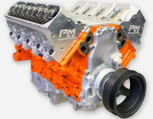 408ci Lq9 Ls Stroker Crate Engine Long Block Aluminum Heads All Forged 500 575