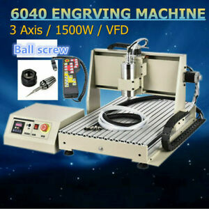 3 Axis Cnc 6040 Router Engraver 1 5kw Mill Drill Engraving Machine controller