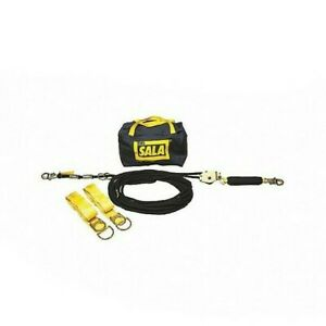 3m Dbi sala Horizontal Lifeline 60ft Length Temporary Installation