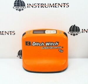 Ditch Witch Subsite Utiliguard T5 Transmitter Cable Pipe Locator Detector T5
