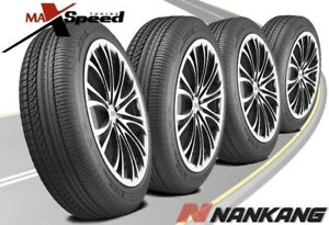 qty Of 4 Nankang As 1 255 30zr21 93y Touring Traction Tires