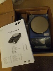 Ika Ret Control Visc S001 Weighing Stirring Ph Hot Plate With Temp Probe