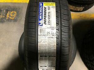Michelin Defender 2356516 103t New Old Stock 235 65r16 05573