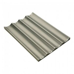 Focus French Bread Pan 4 Molds Long