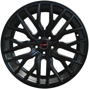 4 G43 Flare 20 Inch Matte Black Rims Fits Jeep Grand Cherokee 2000 2019
