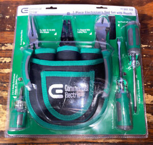 7 piece Electrician s Tool Set With Pouch Brand New