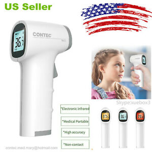 Usa Digital Non contact Ir Infrared Thermometer Forehead Body Temperature Tp500