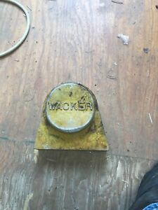 Wacker Plate Compactor Wch 6 Cover Plate