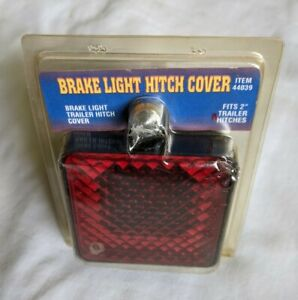 Brake Light Hitch Cover 44039 Fits 2 Trailer Hitches 12v Lamp Harbor Freight