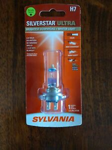 Single Sylvania Silverstar Ultra H7 Halogen Lamp 12 8v 55w H7su