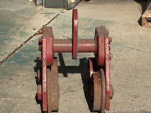 Chester Hand Propelled Overhead I beam Trolley Model Pt 10 Ton