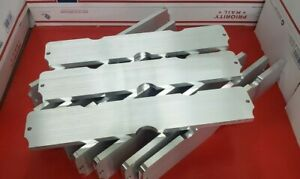 12 6061 Aluminum Billets From Cnc Good For Projects Art Ect 18 X 3 X 1 2