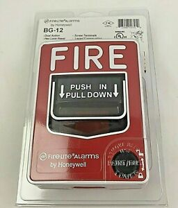 Fire lite Alarms By Honeywell Bg 12 Pull Station Dual Action Hex Lock Reset New