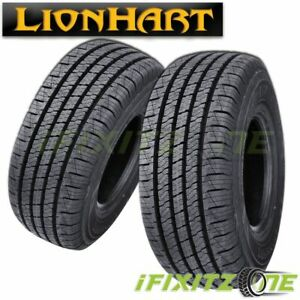 2 Lionhart Lionclaw Ht P265 70r17 113t All Season Highway Performance A s Tires