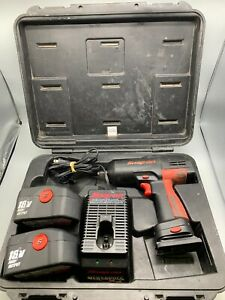 Snap On Ct3850 18v Cordless 1 2 Drive Impact Wrench With Case Preowned Tt92