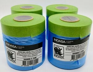Pack Of 4 Indasa Masking Tape Cover Roll 14 X 27 Yard