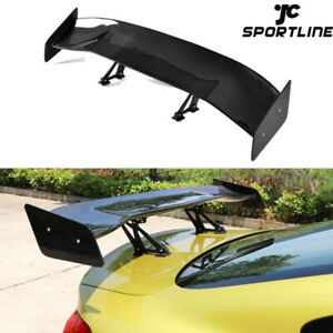 Carbon Fiber Rear Trunk Spoiler Boot Wing Universal Fit For Bmw Audi Benz Sedan