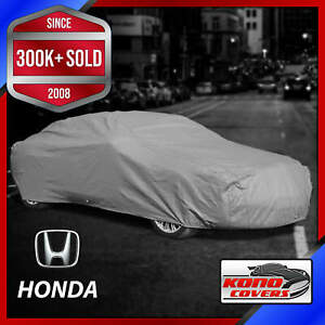 Honda outdoor Car Cover Weatherproof Waterproof Full Body Custom Fit