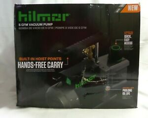 brand New In Box Hilmor 1948121 5 Cfm Vacuum Pump