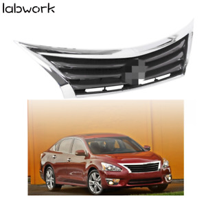 Fit For 2013 2014 2015 Nissan Altima Front Bumper Grille Grill Chrome