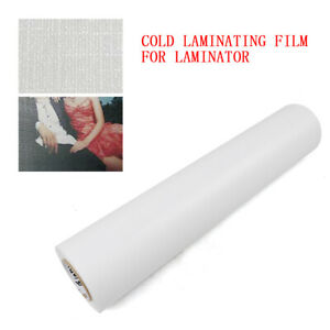 93ft 25inch 3mil Cold Laminating Film Glossy Roll Lamination Posters maps Signs