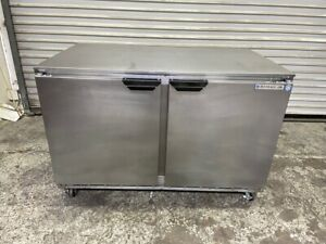 2 Door Under Counter Refrigerator Nsf 48 Cooler Beverage Air Ucr48a 4137 Front